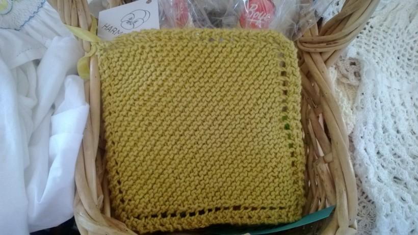 beginning knitt class spa cloth project summer 2013
