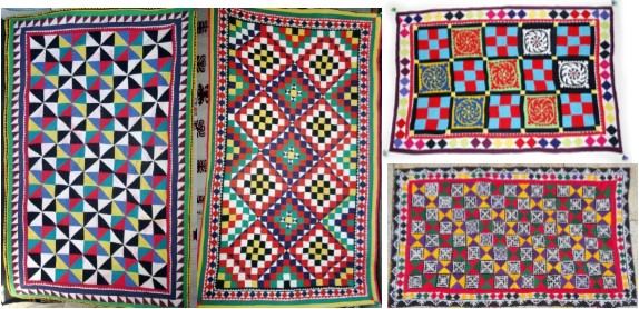 harmonyprovo - Ralli Quilt - collage