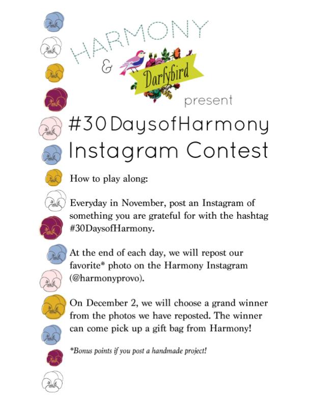30daysofharmonyforblog