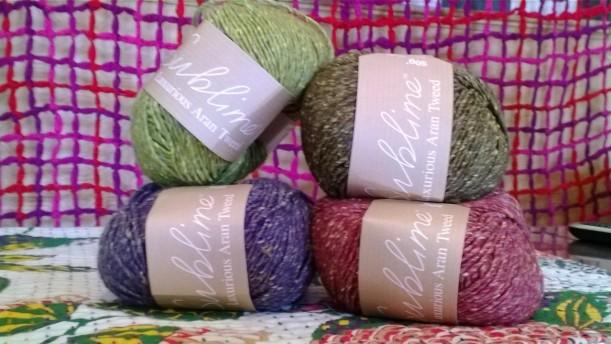 Sublime Aran Tweed
