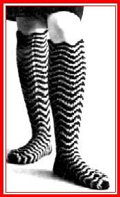 Grandma's Crazy Knee Socks - American Pattern Company