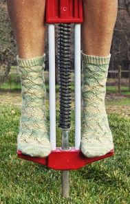 Spring Forward Socks - knitty.com