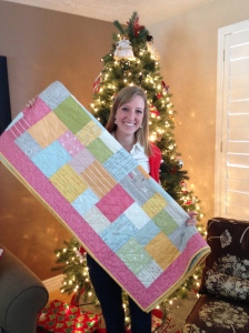Ashley Asay homemade quilt