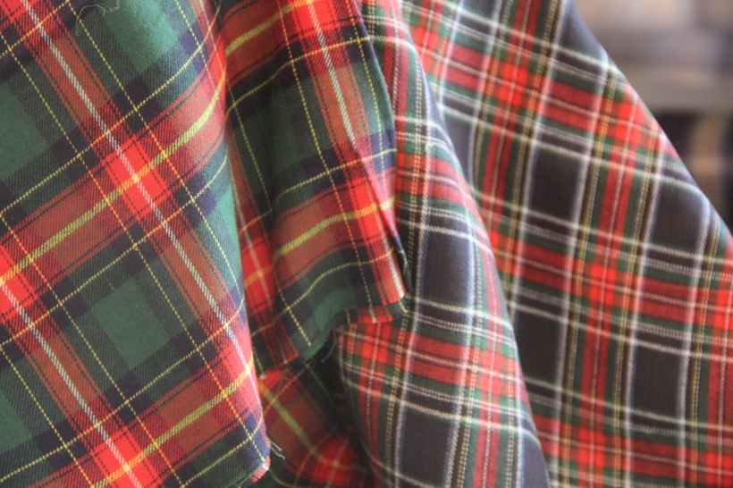 and tartan flannels...
