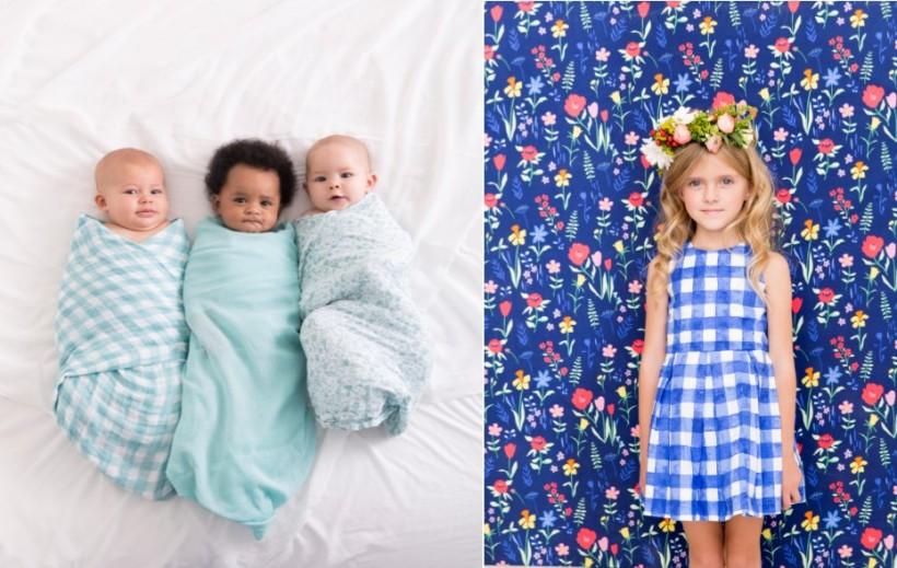 SARAHjane swaddle fabric sommer fabric